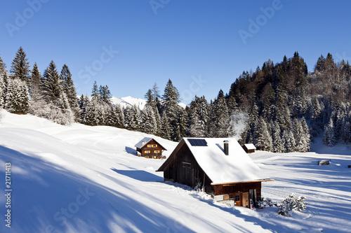Fototapety, obrazy: Winter landscape