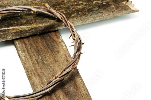 Fotomural crown of thorns and cross