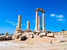 Temple Of Hercules In Amman Ci...