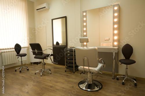 Cabinet make-up artist and hairdresser