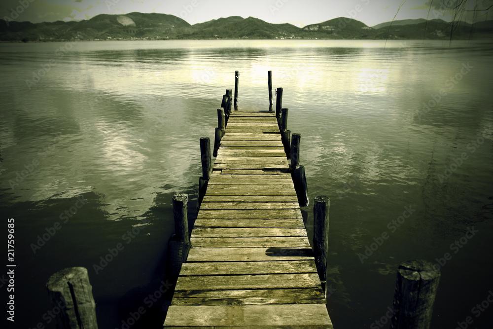 Fototapety, obrazy: Dock