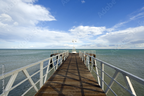 Foto op Plexiglas Panoramafoto s camino al paraíso