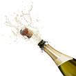 canvas print picture - champagne