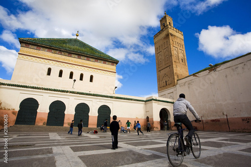 Poster Maroc Marrakech