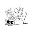 journaux, illustration