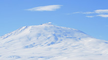 A Picture Of Mount Erebus, Ant...