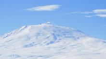 A Picture Of Mount Erebus, Antarctica