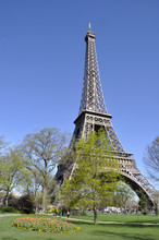 The Eiffel Tower In Spring #2