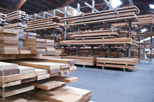 Obraz Lumber industry - fototapety do salonu