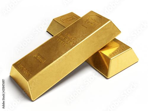 Fotografía  Lingotti d'oro purissimo