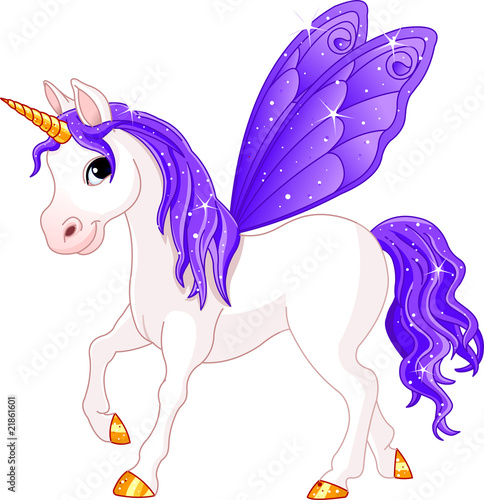 Poster Pony Fairy Tail Violet Horse