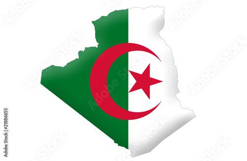 Poster Algérie People's Democratic Republic of Algeria