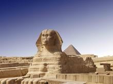 Spinx Of Gizeh - Pyramid Of Kairo