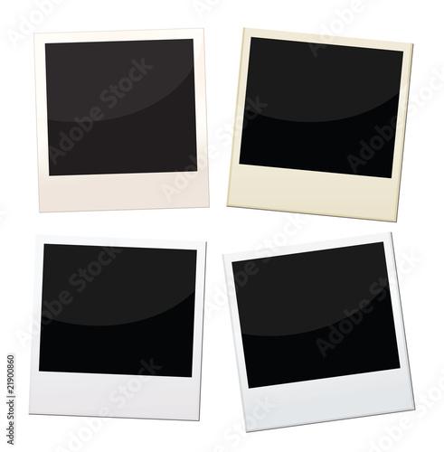 Fotografie, Obraz  polaroid frames