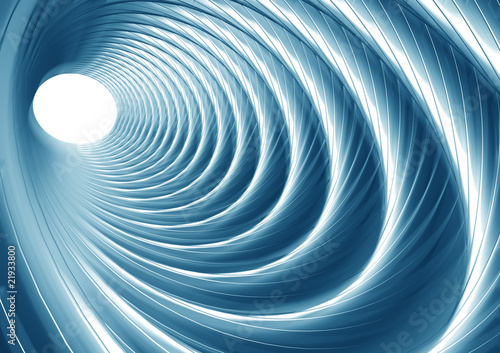Wall Murals Psychedelic Abstract illusion of tunnel effect abstract