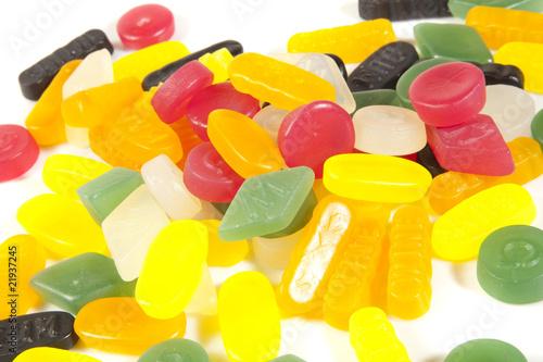 Aluminium Prints Candy BUNTER TELLER