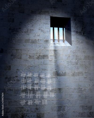 Fotografia jailhouse cell door