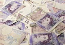 British Stirling  £10 & £20 Pound Notes