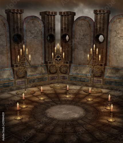 Fototapeta Świątynia fantasy 5 obraz
