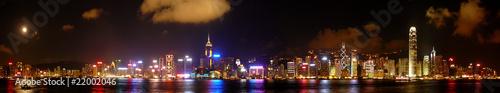 Keuken foto achterwand Hong-Kong hong kong skyline