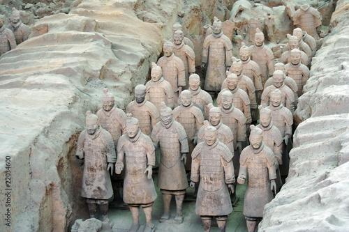 Cadres-photo bureau Xian Terracotta Warriors of Xian, China