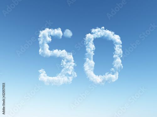 Fotografia  cloudy fifty