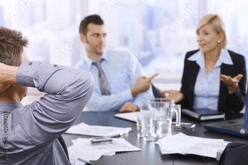 Business meeting Fototapete
