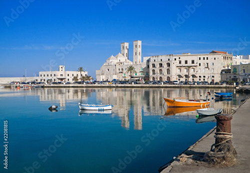 Fotografie, Obraz  Landscape of Molfetta Seaport. Apulia.