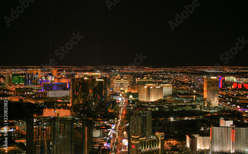 Foto op Canvas Las Vegas Nighttime in Vegas