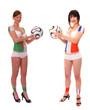 WM 2010 Spiel Algerien - Frankreich