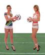 WM 2010 Spiel Südafrika - England mit Rasen