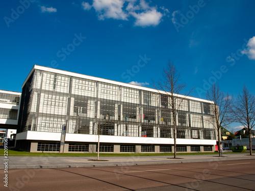 Bauhaus in Dessau плакат