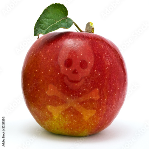 Giftiger Apfel