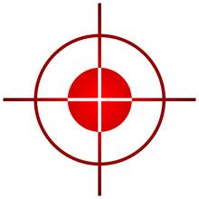 Sniper Target Sight Or Scope