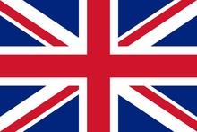Grosse Fahne Großbritannien
