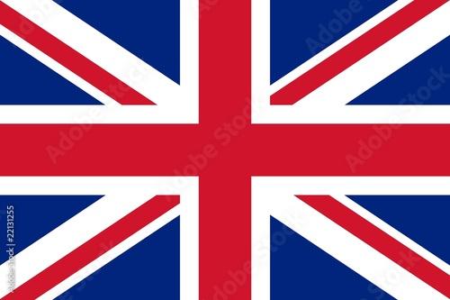Pinturas sobre lienzo  Grosse Fahne Großbritannien