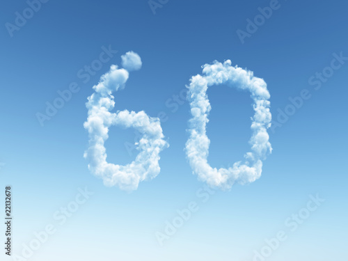 Fotografia  cloudy sixty