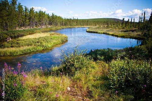 Foto auf Gartenposter Fluss Northern Canadian River