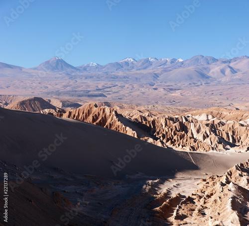 Foto op Plexiglas Arctica Volcanoes in Atacama Desert, Chile