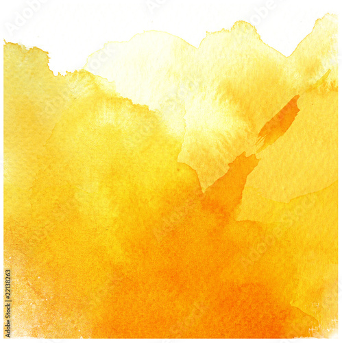 Plakaty żółte  great-yellow-watercolor-background
