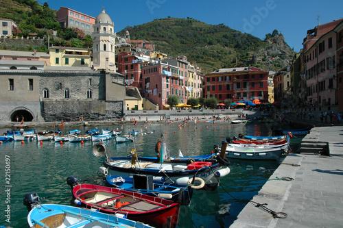 Fotobehang Liguria Vernazza - Cinque Terre