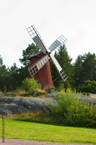 Tuinposter Molens Windmil