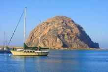 Morro Rock, Morro Bay, Califor...