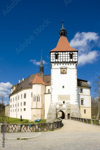 Castle Blatna, Czech Republic Poster