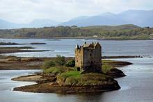 Castle Stalker, Loch Linnhe, S...