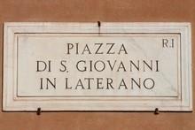 Piazza Di San Giovanni In Rome
