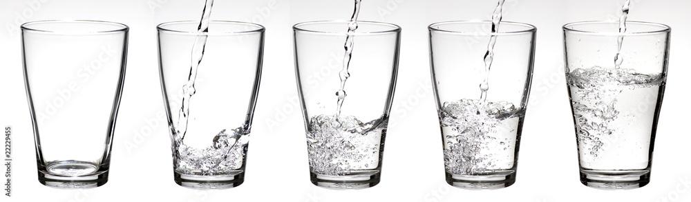 Fototapeta Wasserglas