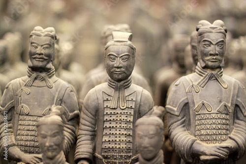 Autocollant pour porte Chine Terracotta warriors, China