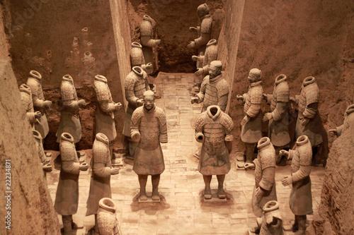 Cadres-photo bureau Xian Terracotta warriors, China