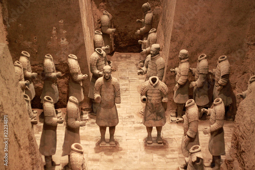 Photo sur Aluminium Xian Terracotta warriors, China